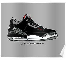 Air Jordan 3 / Smile Design 2014 Poster