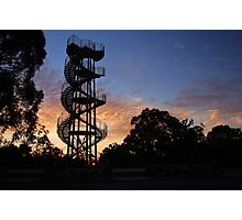 Kings Park DNA Tower At Sunset  Photographic Print
