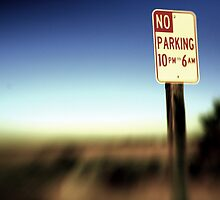 No Parking by Ben Pacificar