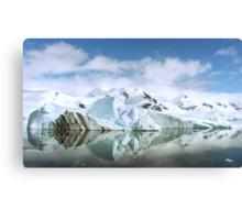 Antarctic Reflections Canvas Print