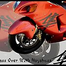 Advertisement for Hayabusa Motorcyles by Lisa  Weber