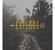 Explore (Arrow) Photographic Print