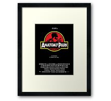 Anatomy Park - movie poster shirt Framed Print