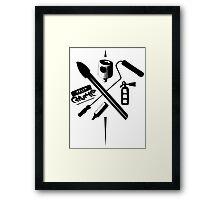 Choose your Tool Framed Print
