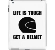Life Tough Get Helmet iPad Case/Skin