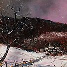 winter landscape by calimero