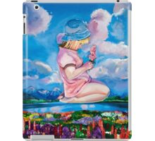 """""""Miracle of countryside"""" 76x61cm Oil on canvas iPad Case/Skin"""