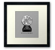 MVP All-Star Trophy / Smile Design 2014 Framed Print