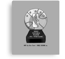MVP All-Star Trophy / Smile Design 2014 Canvas Print