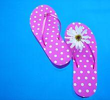 Floating Flip-Flops by Maria Dryfhout