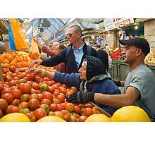 "Selection! - ""Machaneh Yehuda"" market,  Jerusalem, Israel Photographic Print"