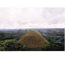 """Chocolate Hills"" - Bohol, Philippines Photographic Print"