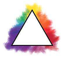 Rainbow Triangle Photographic Print
