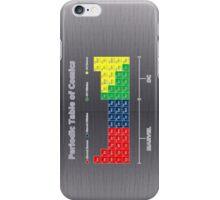 Periodic Table of Comics iPhone Case/Skin
