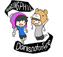 Danisnotonfire and Amazingphil! by KayMaynard