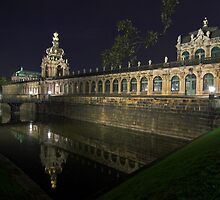 Zwinger Palace, Dresden by Andy Mueller