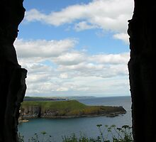 Through the castle window by Chris Ousdal