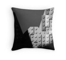 Moon and Half Dome Throw Pillow
