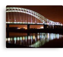 Runcorn Widnes Bridge Canvas Print