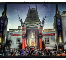 Chinese Theater -- Hollywood by pjfinn