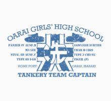 Oarai Girls' Tankery Team  by EpcotServo