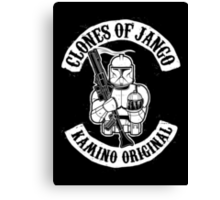 Clones of Jango Canvas Print