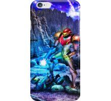 Samus Vs M.Chief iPhone Case/Skin