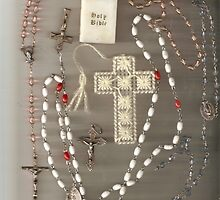 Rosaries and Crosses by karen66