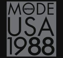 Depeche Mode : USA 1988 - Grey by Luc Lambert