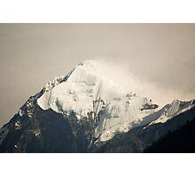 Pandim's peak in the Himalayas Photographic Print