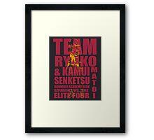 Team Matoi Framed Print