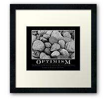 Optimism Framed Print