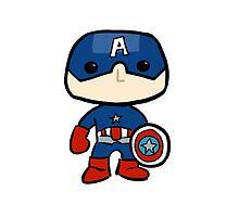 Captain America Sticker by rwang