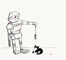Cat Bot by SpiffyScribbles
