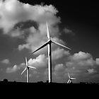 wind turbines by Stuart Elliott