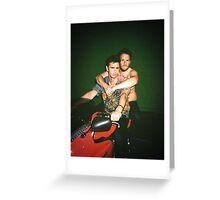 James Franco & Seth Rogan Greeting Card