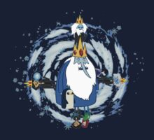 Ice King Evolution by Shannon Manteufel