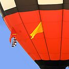 hot air balloon by P Michaud