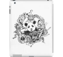 Rocking panda iPad Case/Skin