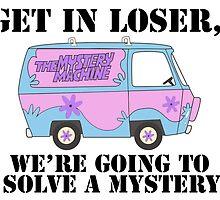 Scooby Doo Mystery Machine - Mean Girls by Emma Kiiskila