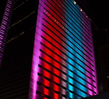 G20 Lights in Brisbane by Marylou Badeaux