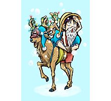 A One Piece Holiday Photographic Print