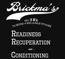 Brickma's Big League Pitcher Key 3 R's - Dark by SeenB4Dzigns