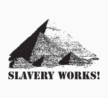 Slavery Works!  by Steven  Sandner
