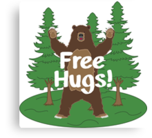 Free Hugs! Canvas Print