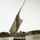 Egyptian Felucca by Boadicea