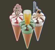 Three Favours Cornetto Trilogy T-Shirt