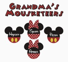 Custom listing Grandma's Mouseketeers  *FOR YOUR CUSTOMIZED ITEM* PLEASE CONTACT ME by sweetsisters