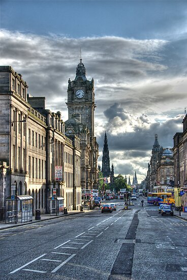 Edinburgh Streets by Craig Goldsmith