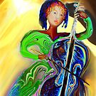 The Passionate  Cello Player by TheBrit